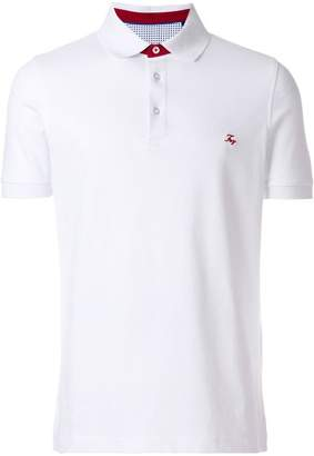 Fay slim fit polo shirt
