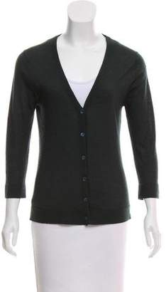 Calvin Klein Collection Cashmere Button-Up Cardigan