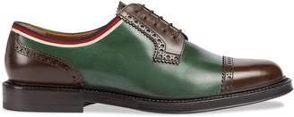 Gucci Leather brogue shoe