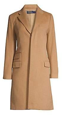 Polo Ralph Lauren Women's Wool & Cashmere Trench Coat