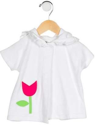 Florence Eiseman Girls' Terry Cloth Tulip Cardigan w/ Tags