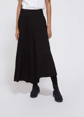 Yohji Yamamoto Slant Open Skirt