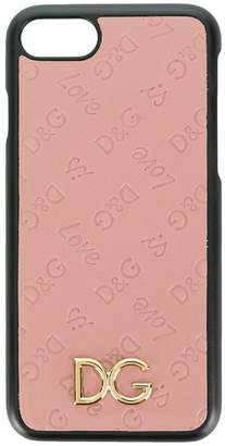 Dolce & Gabbana Love embossed iPhone 7 case