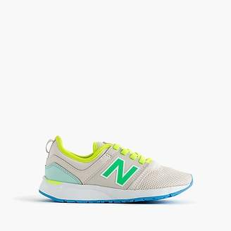 New Balance Kids' for crewcuts 24/7 sneakers with no-tie laces