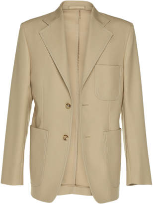 Maison Margiela Pocketed Gabardine Blazer