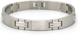 JCPenney FINE JEWELRY Men's Link Bracelet Stainless Steel
