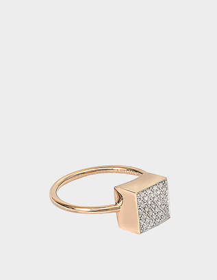 ginette_ny Diamond Ever Square Ring