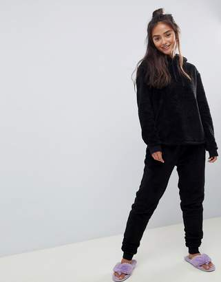 Asos Design DESIGN Lounge super soft hoody and jogger twosie