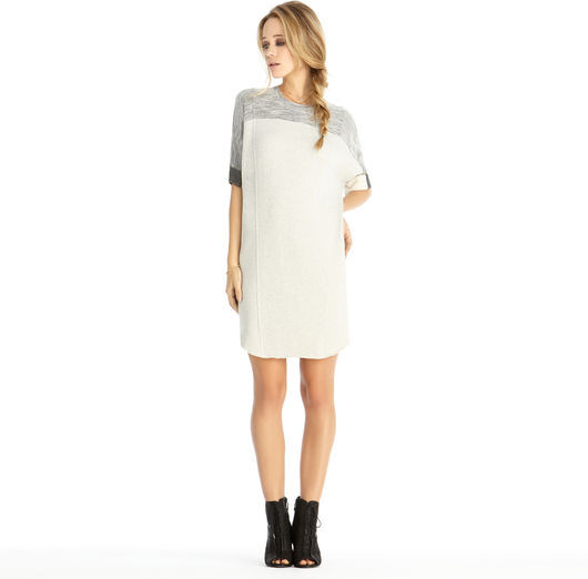 Rachel Roy Seamed Dolman Dress