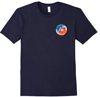 Coast Guard Racing Stripe Retired T-Shirts