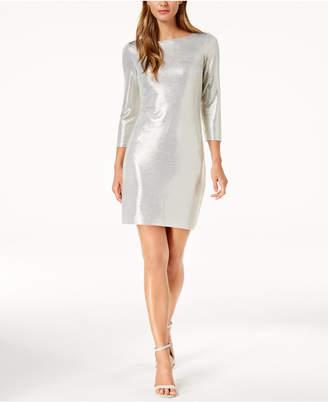 Jessica Howard Metallic Sheath Dress