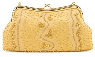Farfalla Womens 90369 Clutch Gold