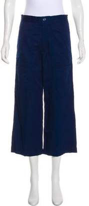 Acne Studios Cropped High-Rise Pants w/ Tags