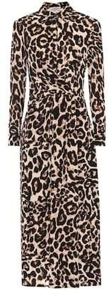 Baum und Pferdgarten Alham leopard midi dress
