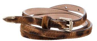 Jimmy ChooJimmy Choo Ponyhair Waist Belt