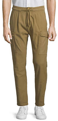 Scotch & Soda Drawstring Cotton Cargo Pants