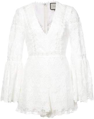 Alexis Caralyn lace romper