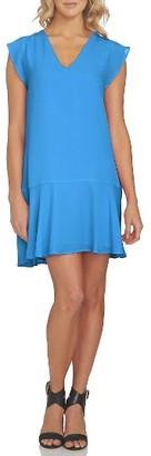 Women's 1.state Flounce Hem Shift Dress $99 thestylecure.com