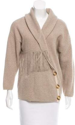 Stella McCartney Cashmere Shawl Collar Cardigan