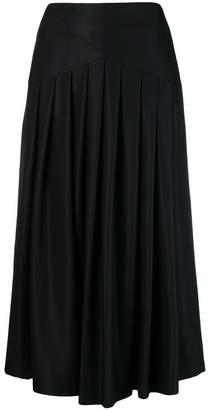 Sara Lanzi pleated midi skirt