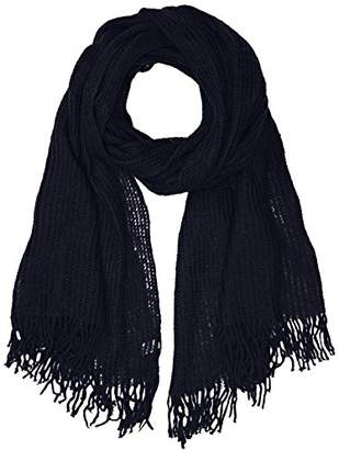 Echo New York Women's Open Knit Blanket Wrap Scarf