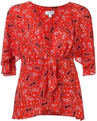 Jovonna London paisley print blouse