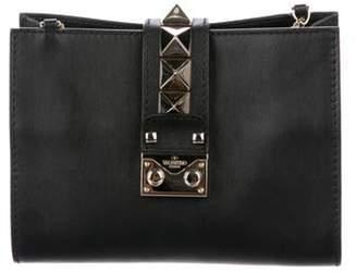Valentino Glam Lock Clutch Black Glam Lock Clutch