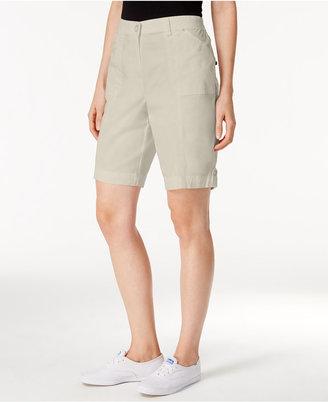 Karen Scott Cotton Blend Shorts, Created for Macy's $39.50 thestylecure.com