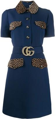 Gucci GG belt short dress