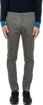 Dondup Dark Gray Gaubert Wool Trousers