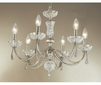 Classic Lighting Weatherford Rope 6-Light Chandelier Classic Lighting