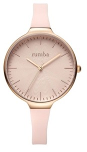RumbaTime Orchard Wave Silicone Band Watch