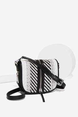 Factory She + Lo Make Your Mark Leather Saddle Crossbody Bag