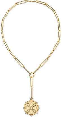 Foundrae True Love 18-karat Gold Diamond Necklace