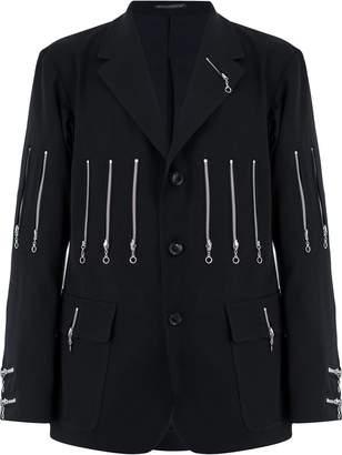 Yohji Yamamoto zip detail jacket