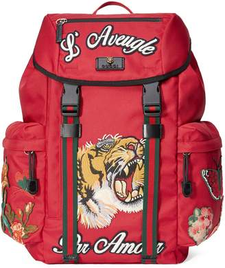 Gucci Backpack with embroidery