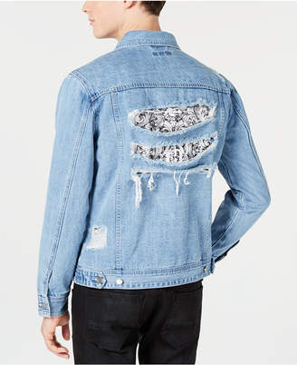 INC International Concepts I.n.c. Men Wally Denim Trucker Jacket