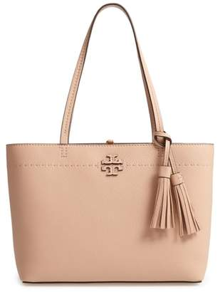 Tory Burch Small McGraw Leather Tote