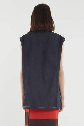 3.1 Phillip Lim Oversized Denim Vest