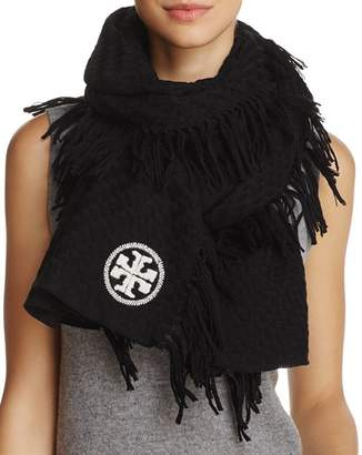 Tory Burch Textured Jacquard Oblong Scarf