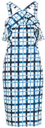 Tufi Duek check printed dress