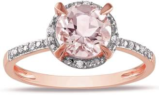 Glamorous JeenJewels Diamond Ring 1.25 Carat Diamond on Rose Gold