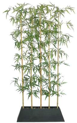Bloomsbury Market Silk Bamboo Tree in Planter