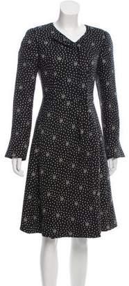 Emporio Armani Silk Printed Dress