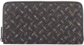 Bottega Veneta Leather Intrecciato Zip-Around Wallet