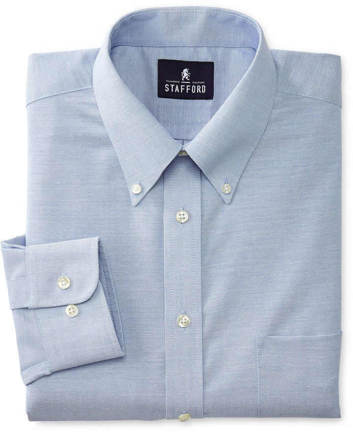 Jcpenney stafford travel wrinkle free oxford dress shirt Best wrinkle free dress shirts