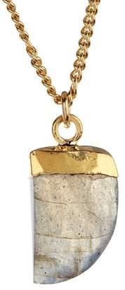 A.V. Max Labradorite Talon Pendant Necklace
