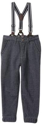 Joe Fresh Suspender Pants (Toddler & Little Boys)