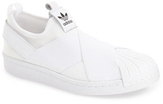 Women's Adidas 'Superstar' Slip-On Sneaker $64.95 thestylecure.com