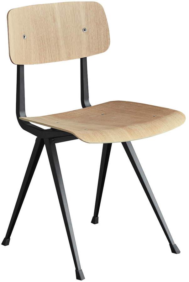 Hay - Result Chair, schwarz / eiche matt